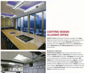 Lighting Design Alliance Office Leading By Example