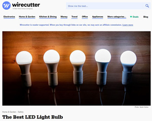 WIRECUTTER REVIEW: THE BEST LED LIGHT BULB